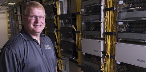 George Stumpf, director of physical infrastructure, Information Technology Services