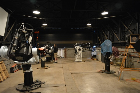 Telescopes at Iowa Robotic Observatory